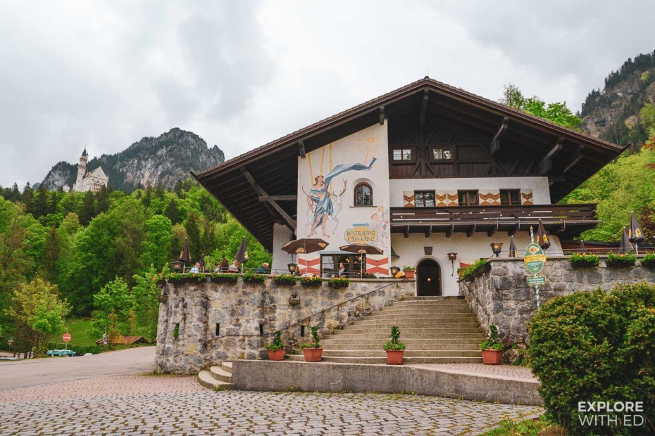 Restaurants and cafes in Hohenschwangau, Bavaria