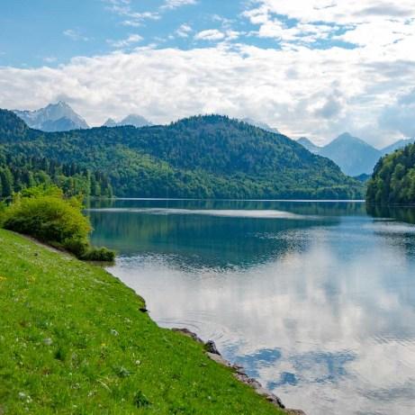 Lake in Hohenschwangau