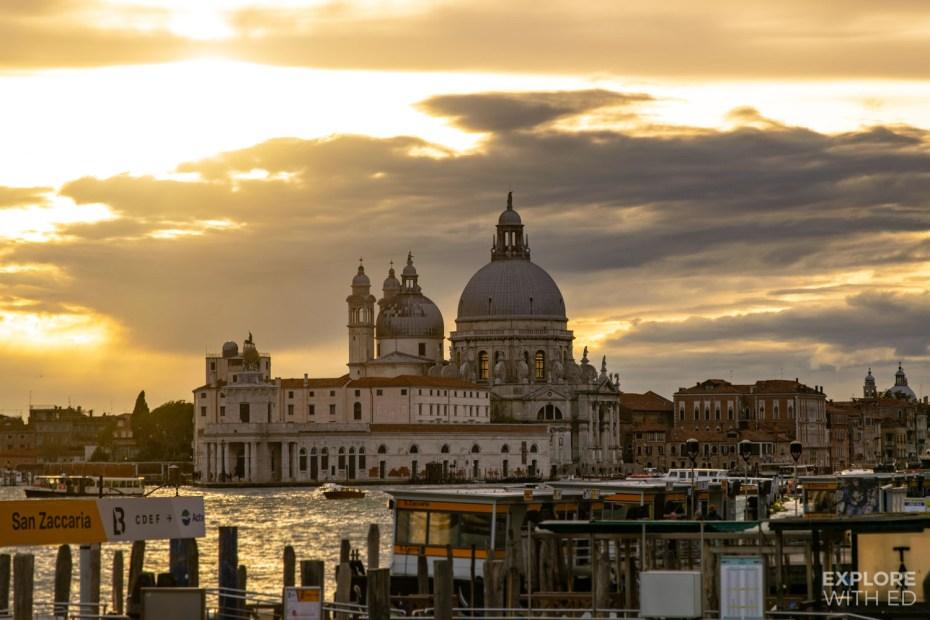 Golden hour in Venice, Italy