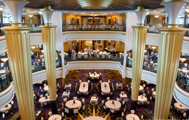 Main Dining Room Explorer of the Seas, Royal Caribbean
