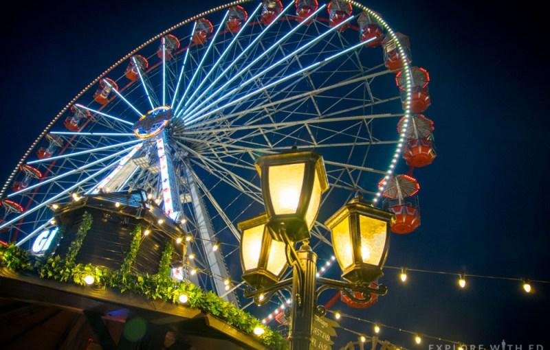 Cardiff Winter Wonderland Giant Wheel