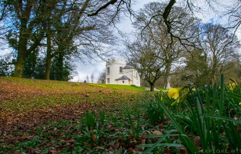 the kymin, national trust wales, monmouthshire