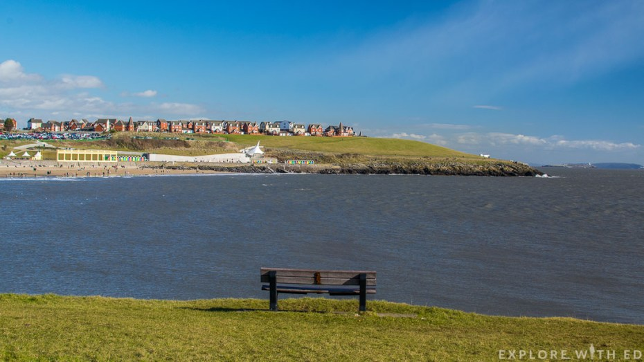 View of Barry Island, Beach huts in Barry Island