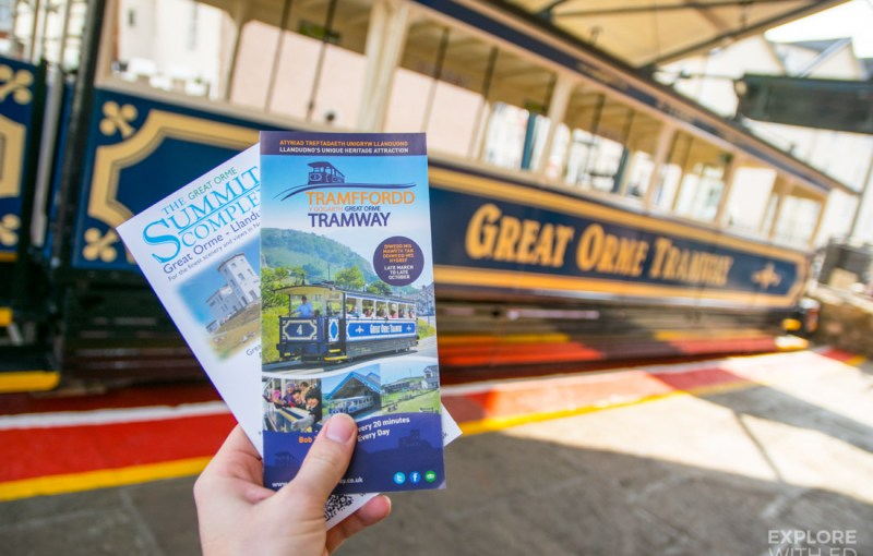 Great Orme Tramway in Llandudno