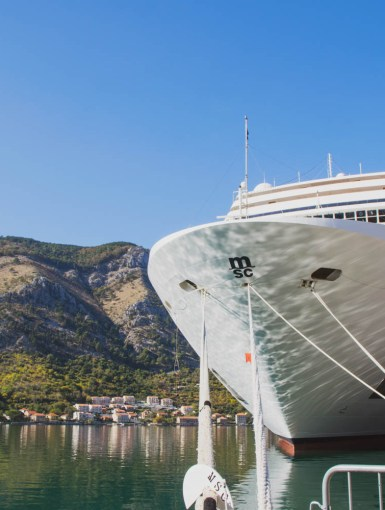 MSC Musica in Kotor Bay [ad]