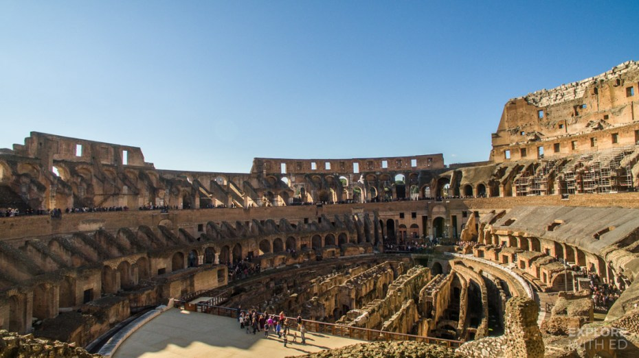 Tour inside the Colosseum with the Roma Pass