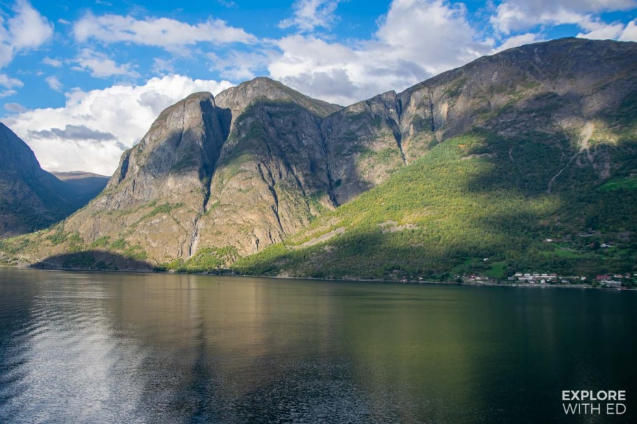 Cruising from Flam, Norway