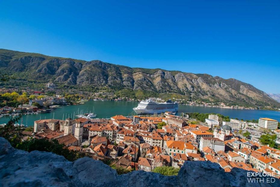 Europe cruise to Kotor