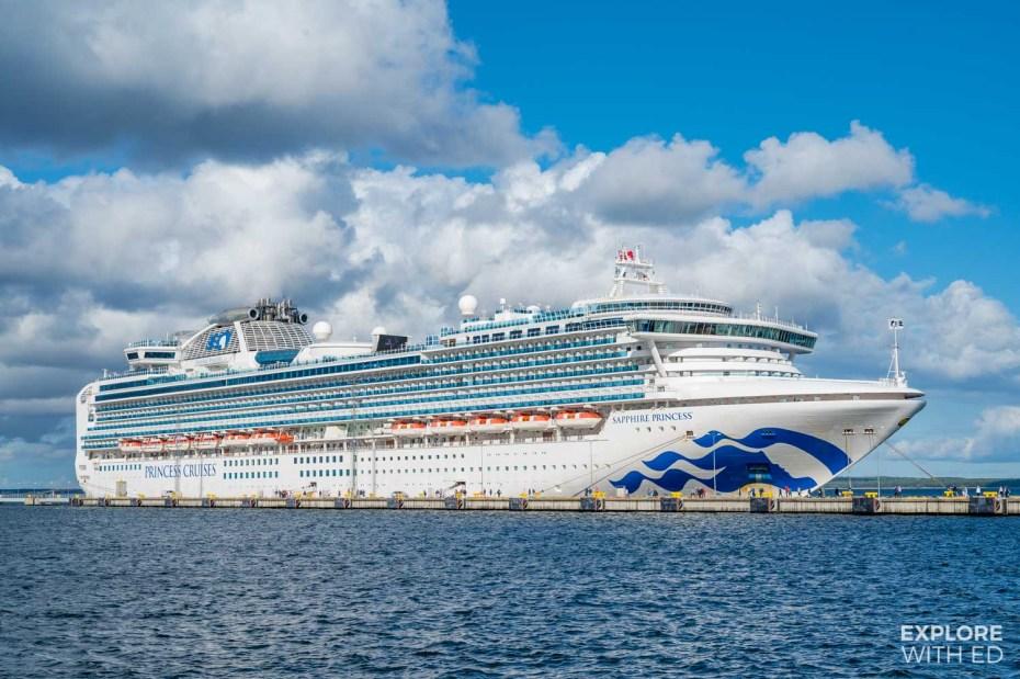 Sapphire Princess, Baltic Cruise