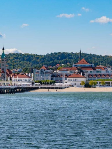 Sopot - the 'Polish Riviera' and pier