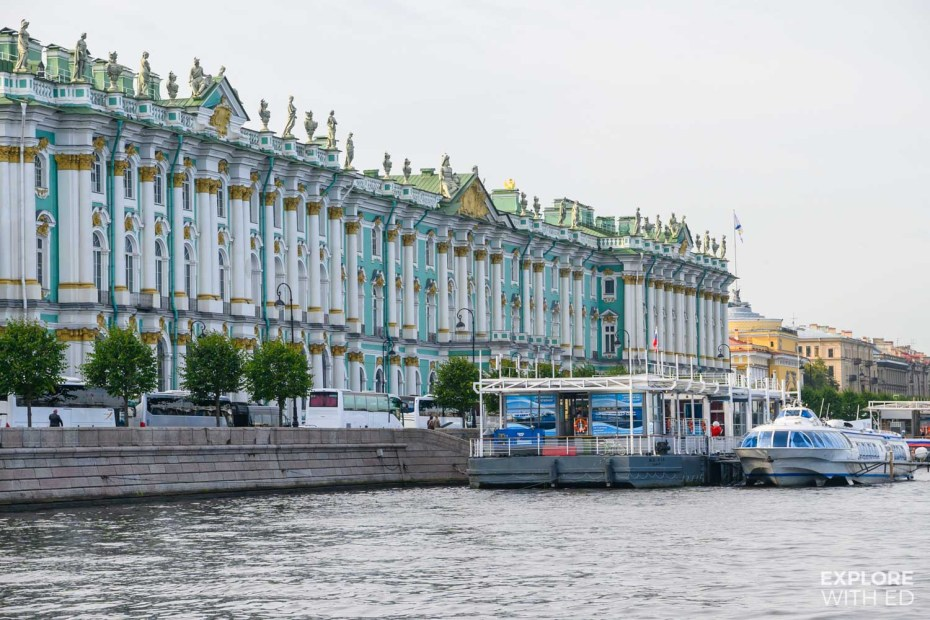 The Winter Palace, Saint Petersburg