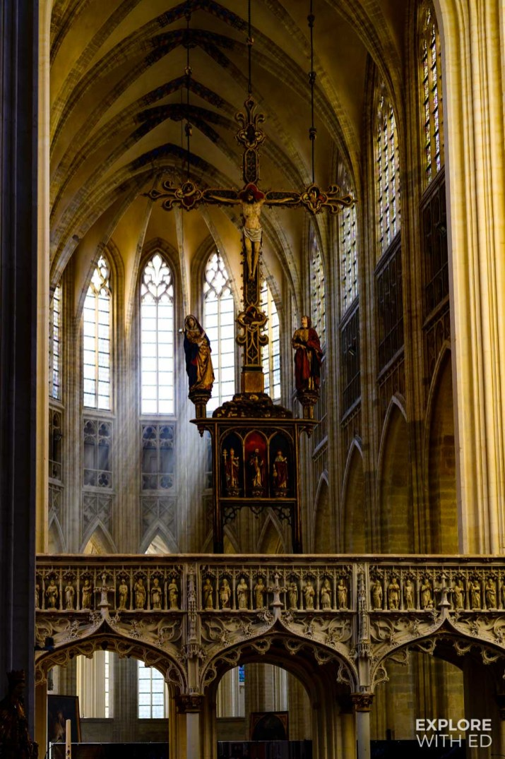 Inside St Peter's Church, Leuven