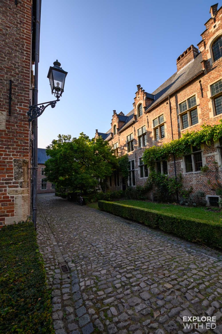 The Great Beguinage (Groot Begijnhof) in Leuven, Belgium