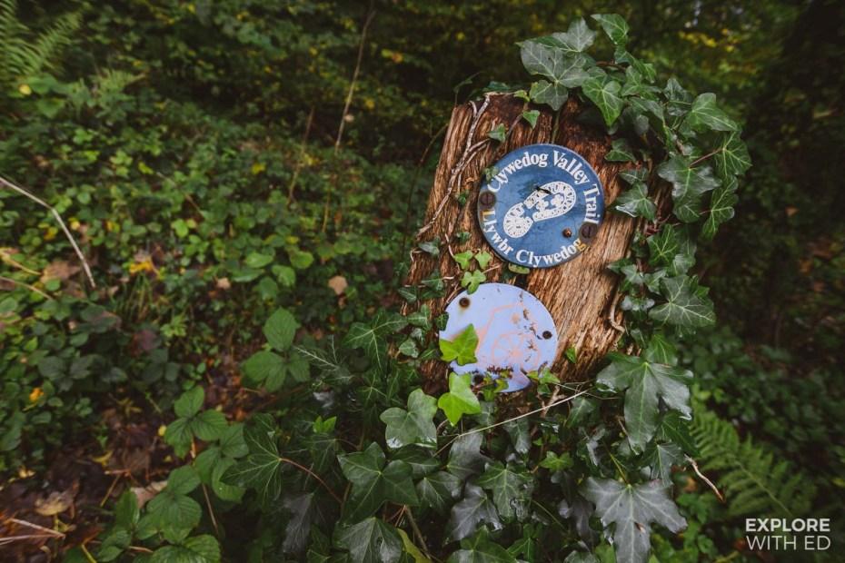 The Clywedog Valley Trail in Wrexham