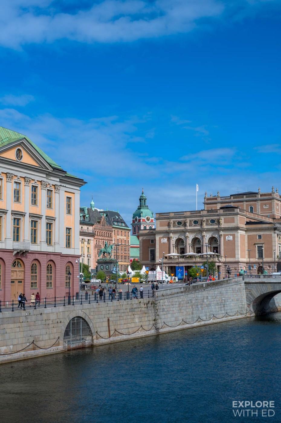 Stockholm city on fourteen islands