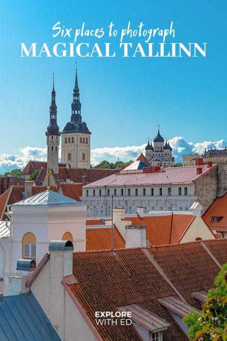 Six magical places to photograph Tallinn