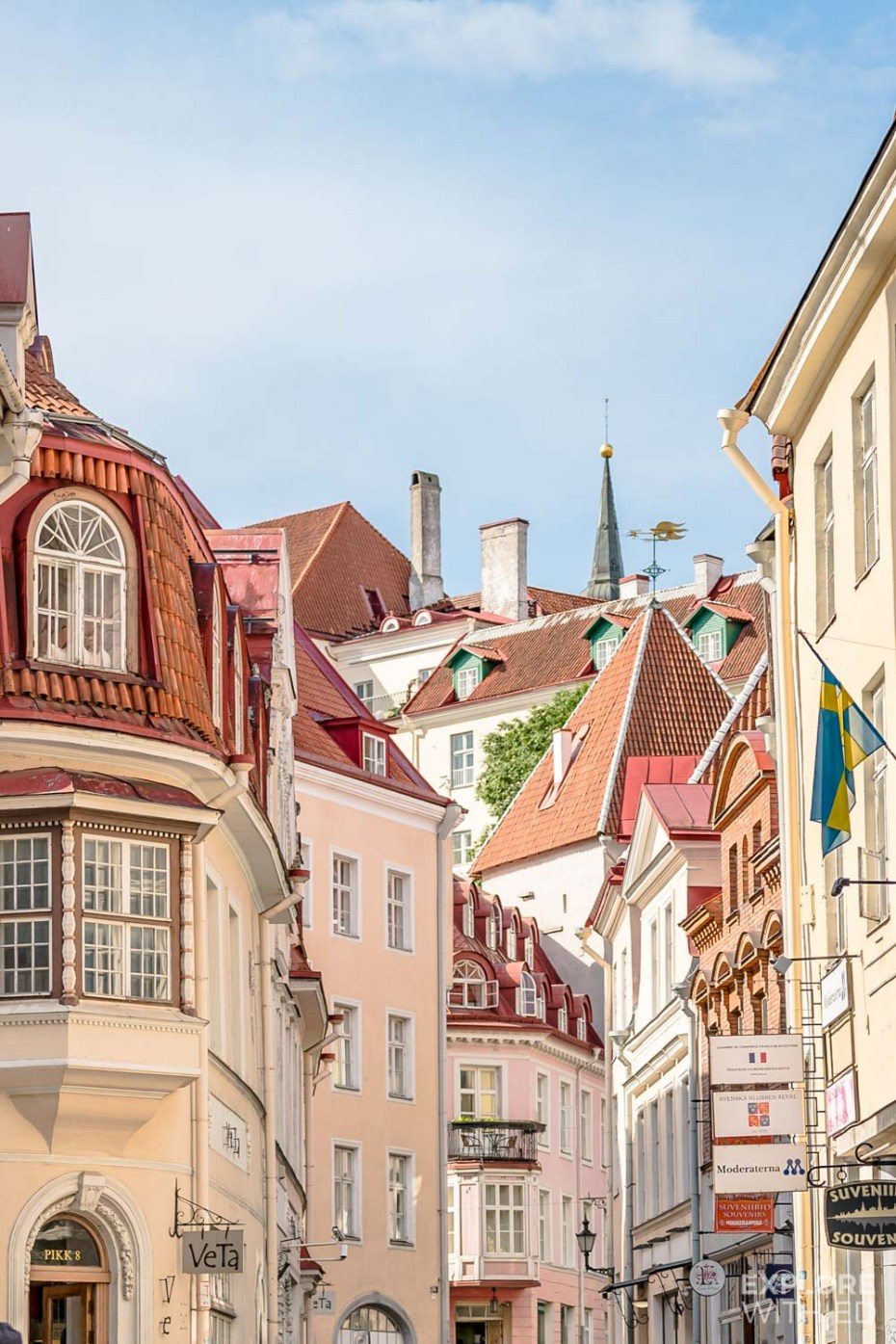 The magical streets of Tallinn's Old Town
