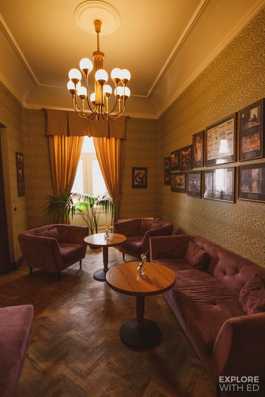 The oldest cafe in Tallinn, Estonia
