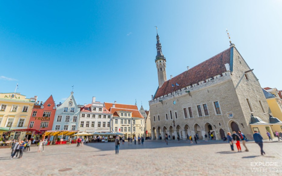The Town Hall Square of Tallinn