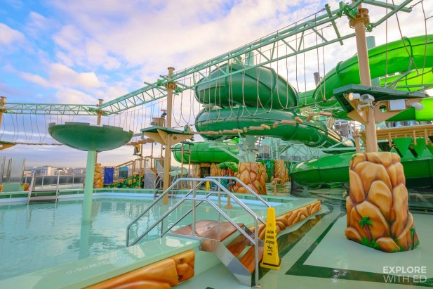 Wild Forest Aquapark on MSC Grandiosa
