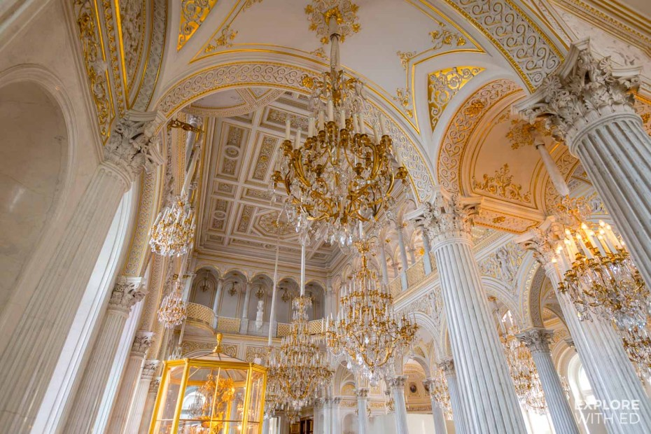 The Hermitage and Winter Palace in Saint Petersburg