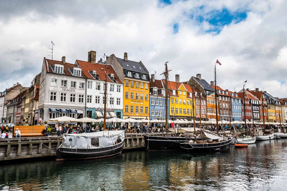 Visiting Nyhavn Harbour on a cruise to Copenhagen