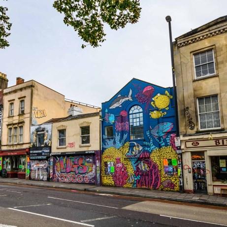 Street Art in Stokes Croft Bristol
