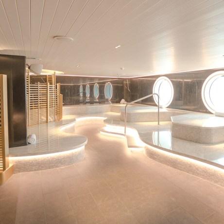 Onboard spa facilities Scarlet Lady