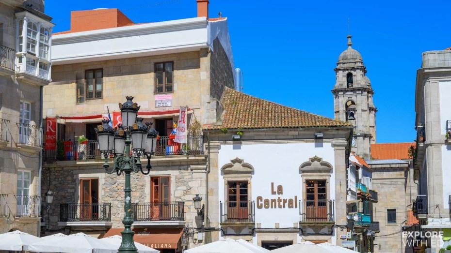 Vigo Old Town Square