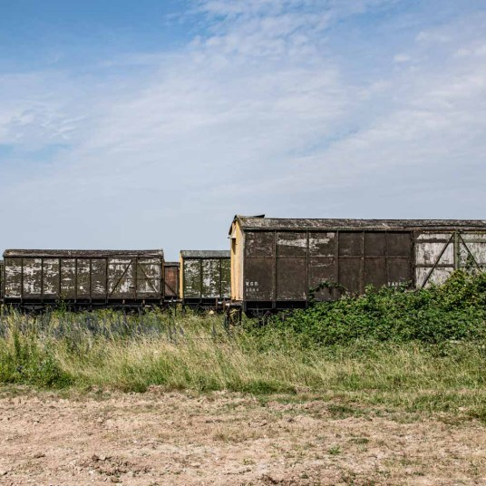 Salisbury Plains abandoned trains