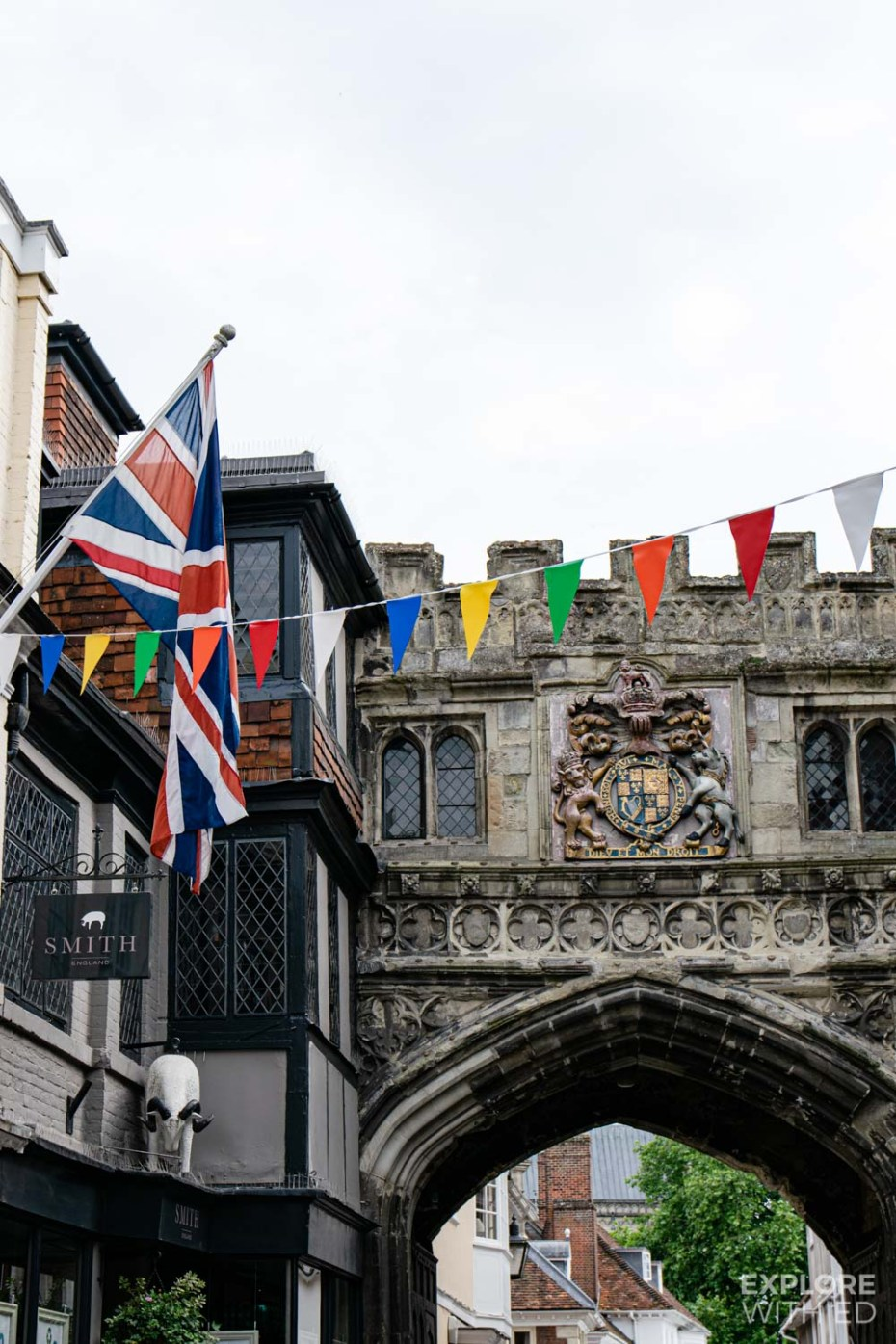 Salisbury medieval style city centre