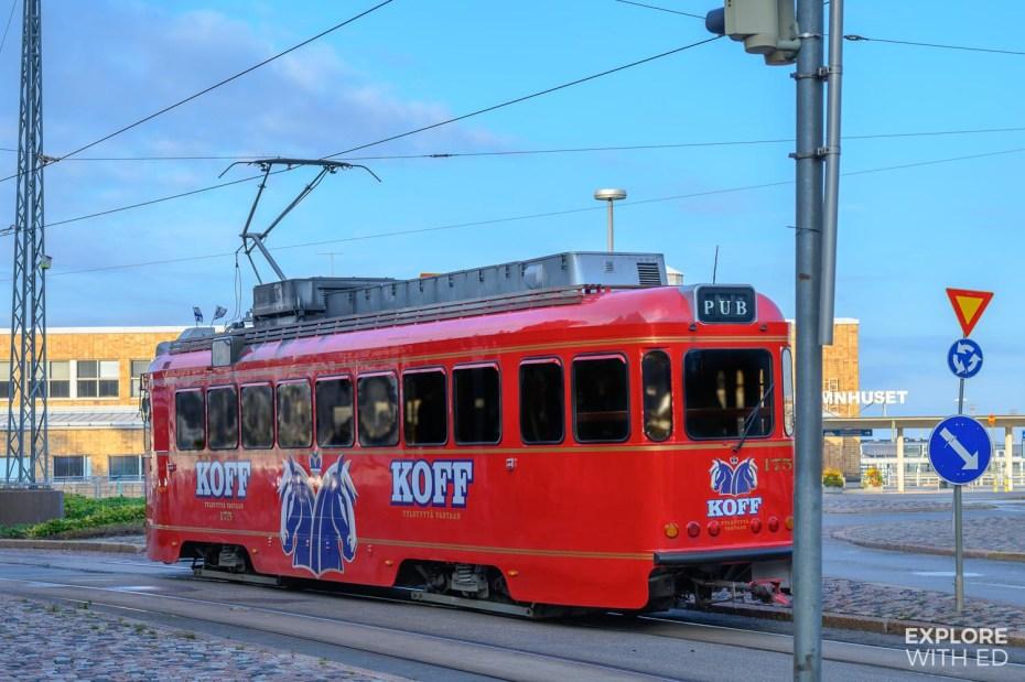 Beer tram in Helsinki, The SpåraKOFF