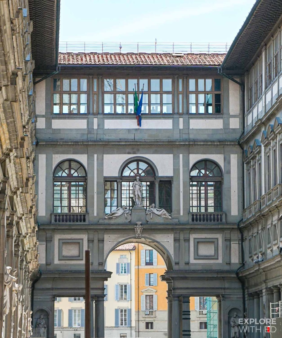 Uffizi Gallery Museum in Florence