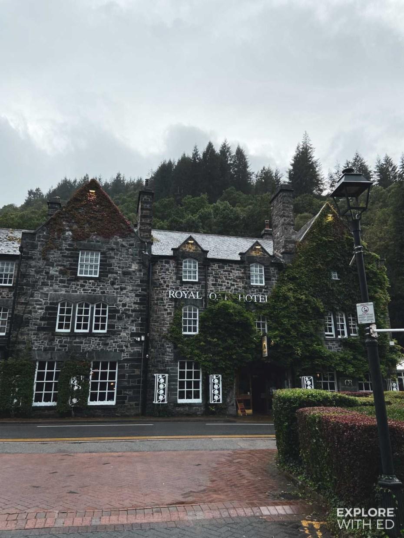 Royal Oak Hotel in Betws-Y-Coed