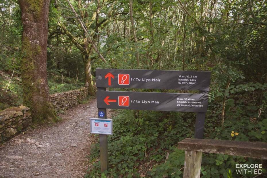 Tan-Y-Bwlch station walk to picnic spot