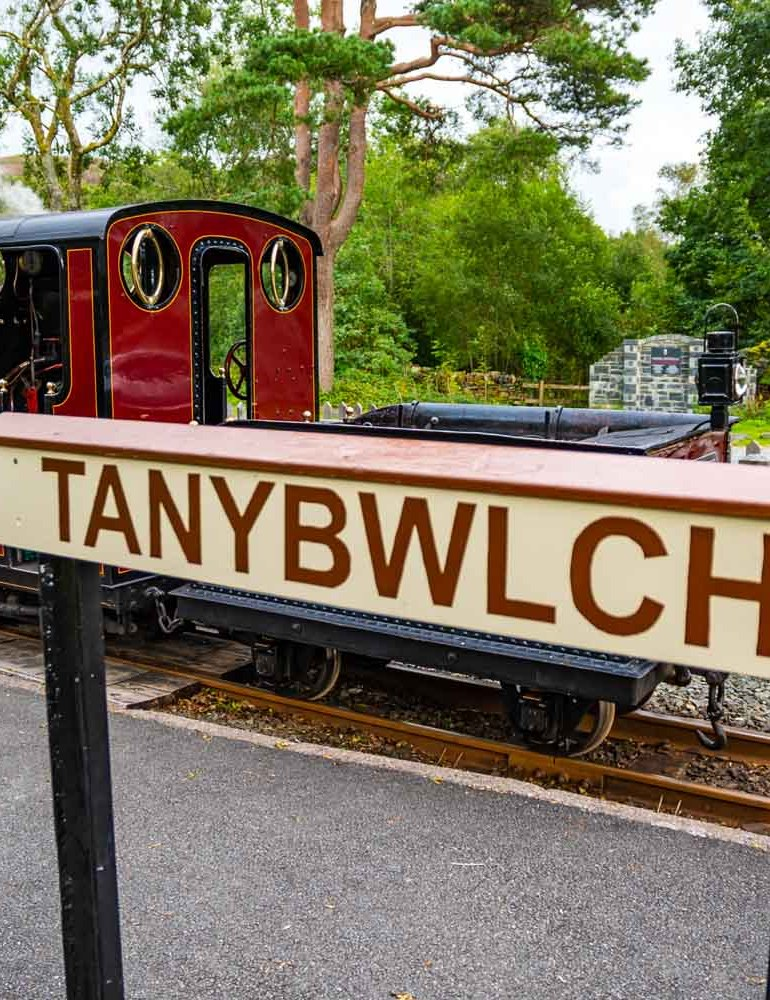 Tan-Y-Bwlch Steam Railway Station, North Wales