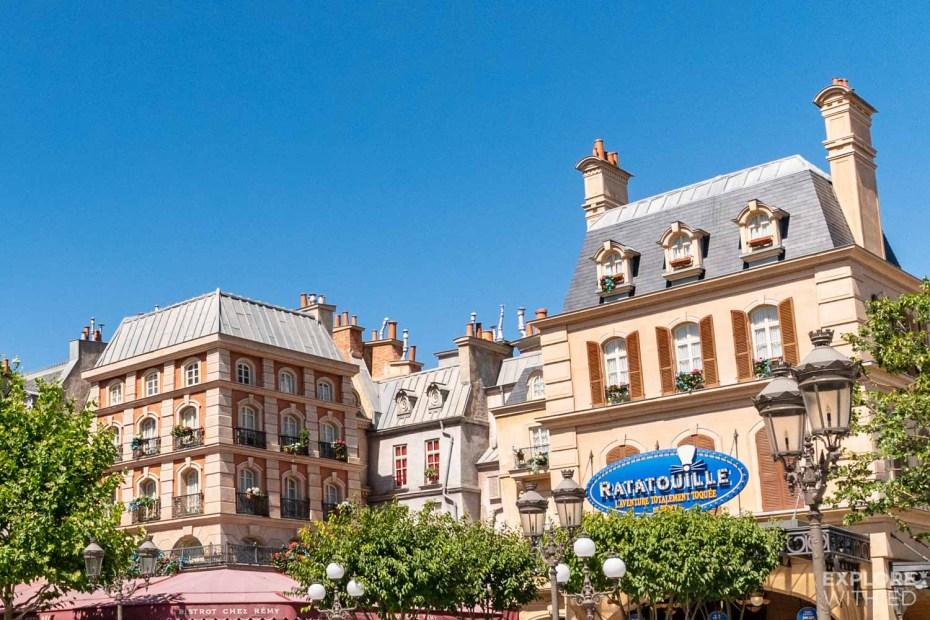 Disneyland Paris Walt Disney Studios Ratatouille ride area