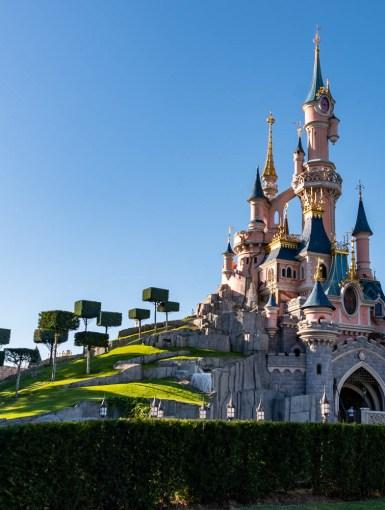 Disneyland Paris near Serris, France