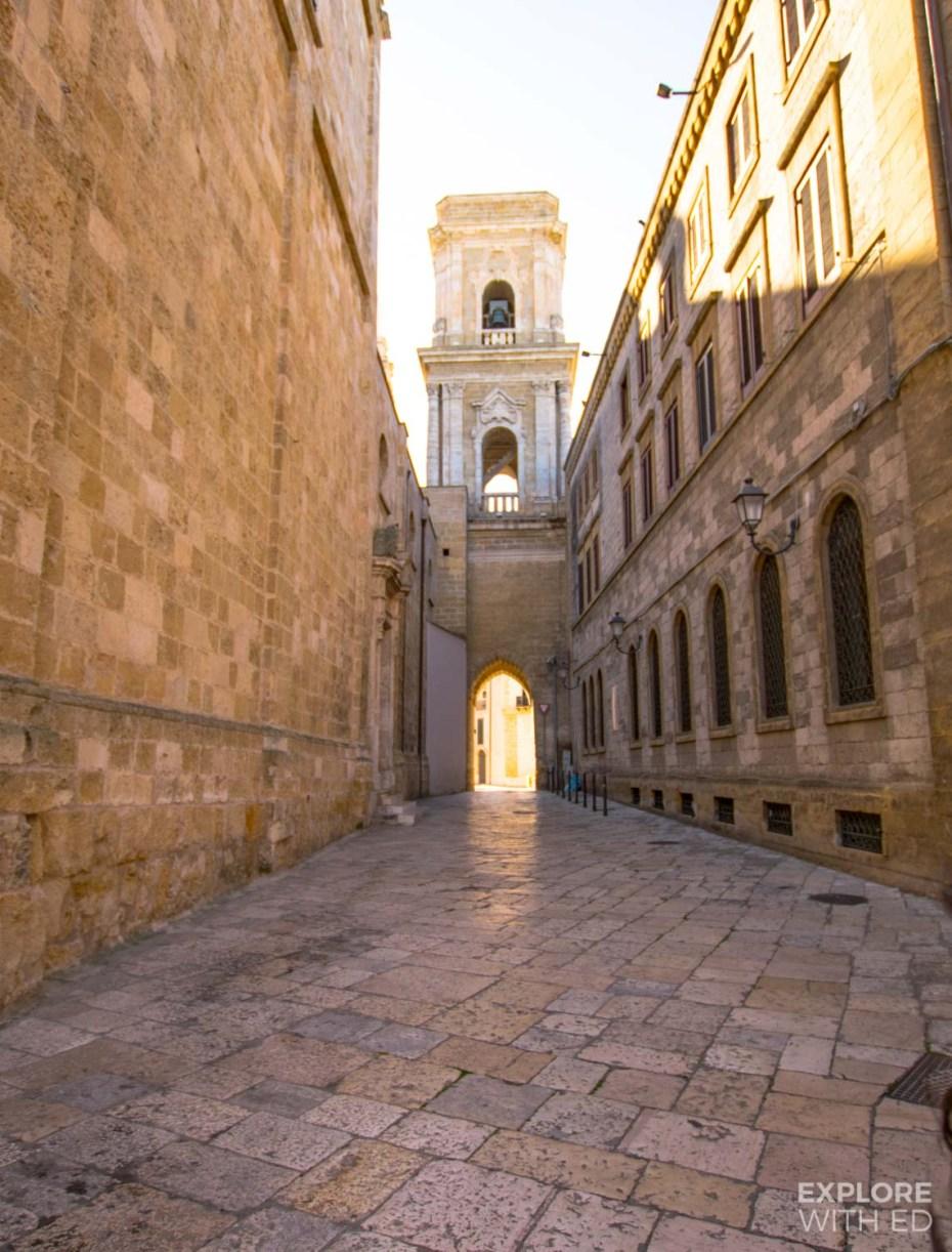 Beautiful architecture in Brindisi, Puglia