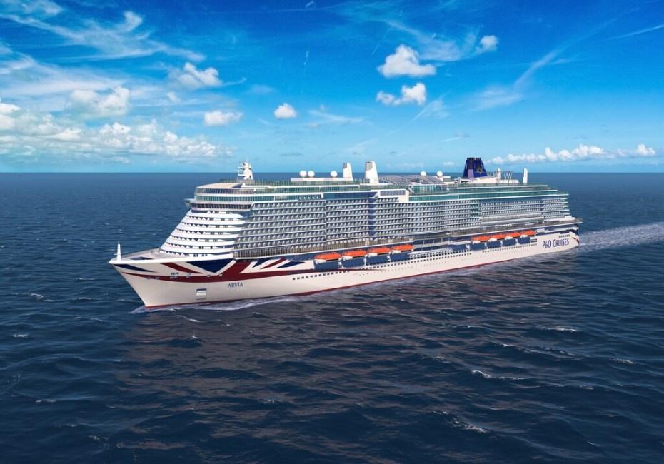 Arvia render © P&O Cruises