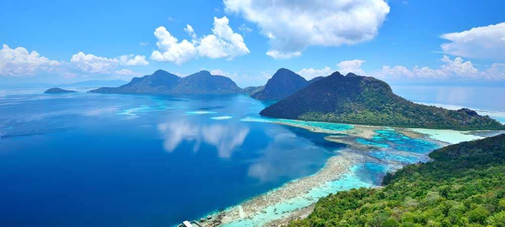 Siapdan Island, Sabah Borneo, Malaysia.