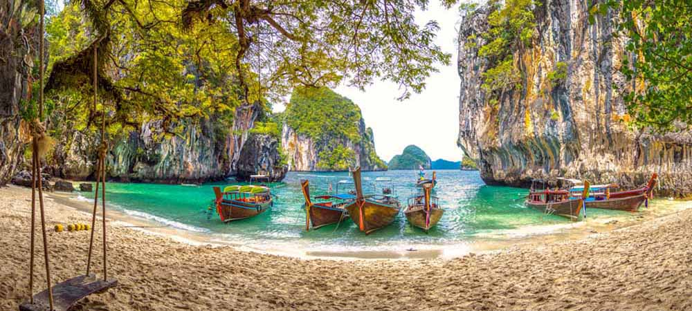 Krabi Thailand Beach Vacation