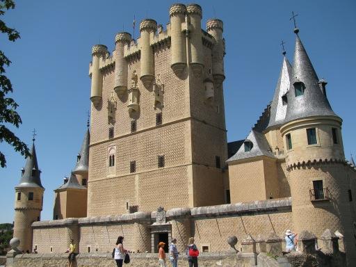Alcazar of Segovia Entrance