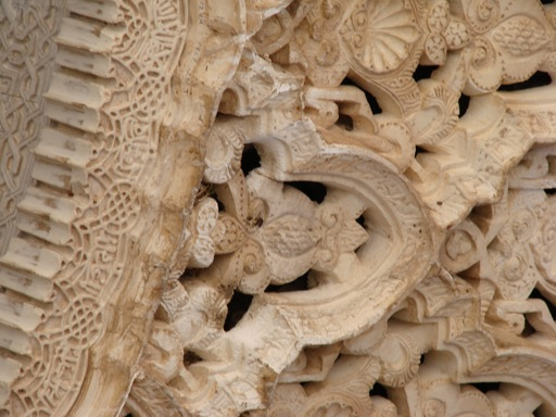 Stucco work, Palacio Nazaries