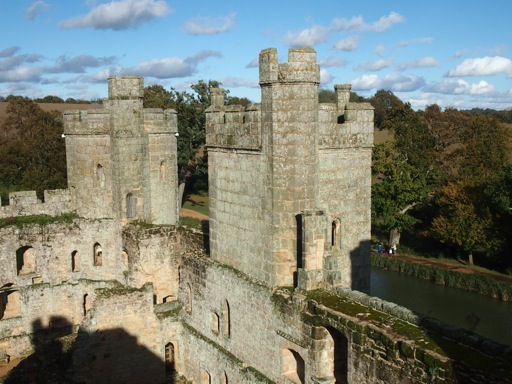 Bodiam Castle interior