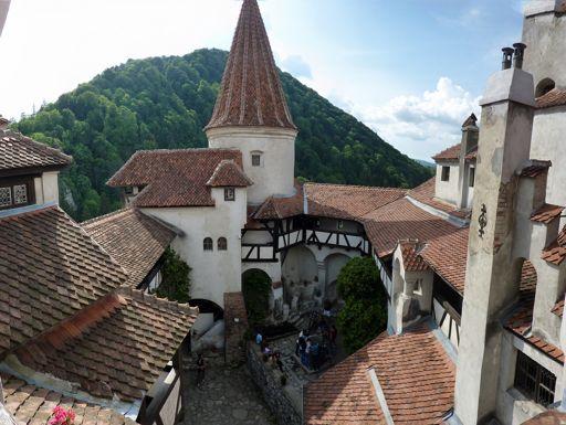 Bran Castle View