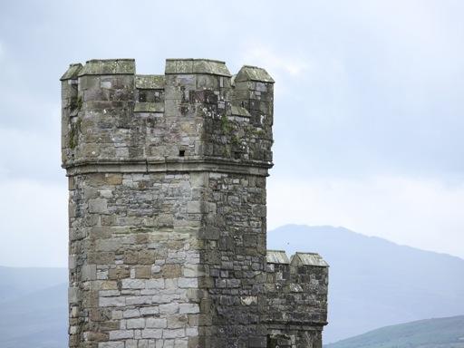 Caernarfon Castle turret