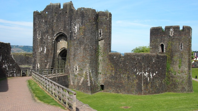 Caerphilly Castle Southern Gatehouse