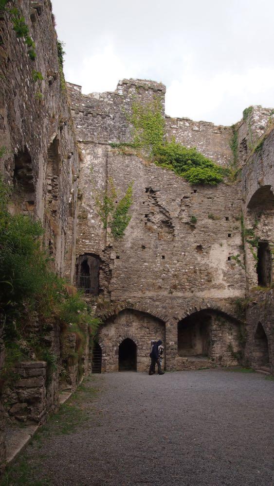 Carew Castle Great Hall