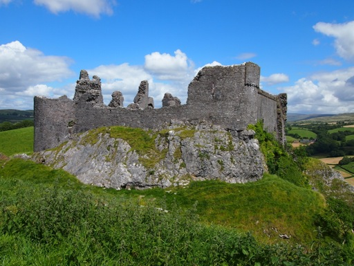 Panorama of Carreg Cennen